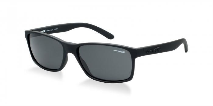 Gafas de sol Arnette AN4185 SLICKSTER 447/87 BLACK RUBBER - GRAY