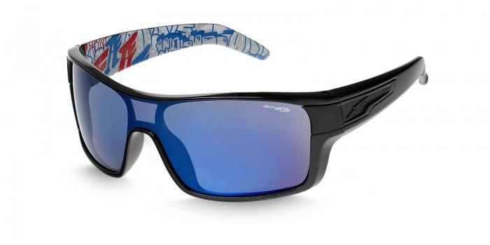 Gafas de sol Arnette AN4186 SHORE HOUSE 220055 BLACK - GREY MIRROR BLUE