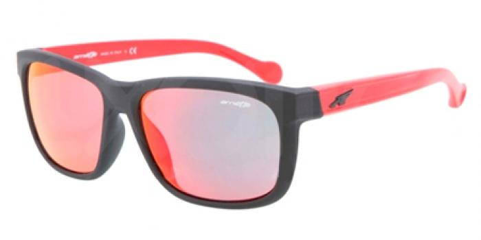 Gafas de sol Arnette AN4196 SLACKER 22426Q FUZZY BLACK - RED MULTILAYER
