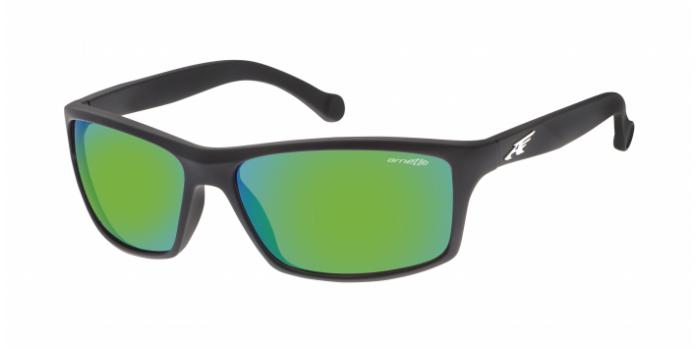 Gafas de sol Arnette AN4207 BOILER 447/3R FUZZY BLACK - LIGHT GREEN MIRROR GREEN