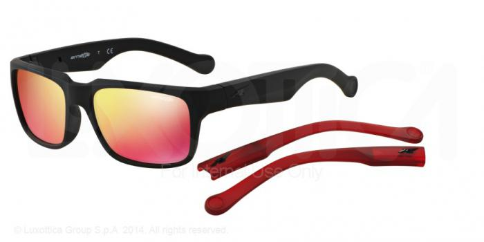 Gafas de sol Arnette AN4211 D STREET 447/6Q FUZZY BLACK - RED MULTILAYER