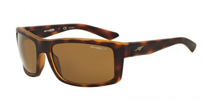 Gafas de sol Arnette AN4216 CORNER MAN 232183 FUZZY DARK HAVANA - DARK BROWN POLAR