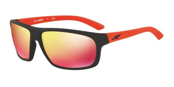 Gafas de sol Arnette AN4225 BURNOUT 23766Q FUZZY BLACK - RED MULTILAYER