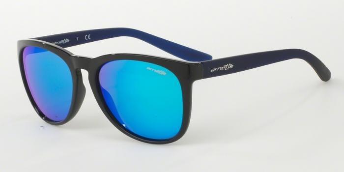 Gafas de sol Arnette AN4227 GO TIME 238325 BLACK - GREEN MIRROR LIGHT BLUE