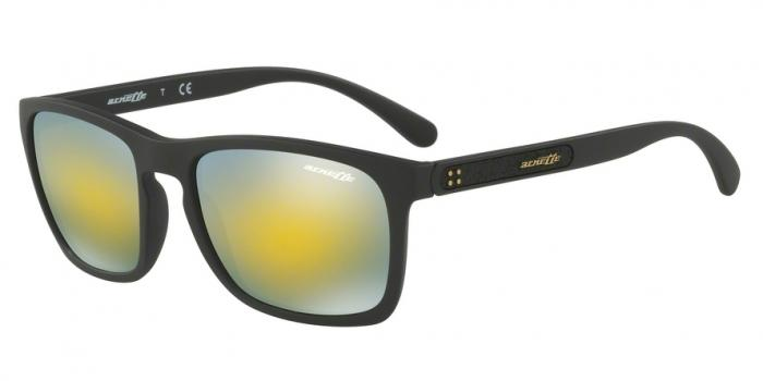 Gafas de sol Arnette AN4236 BURNSIDE 01/8N MATTE BLACK - MIRROR GREEN GOLD