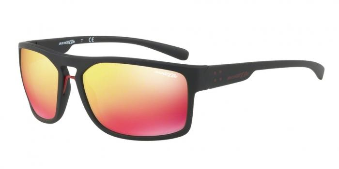 Gafas de sol Arnette AN4239 BRAPP 01/6Q MATTE BLACK - RED MULTILAYER