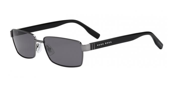 Gafas de sol BOSS Hugo Boss BOSS 0475/S V81 (P9) DARK RUTHENIUM/BLACK / GREY