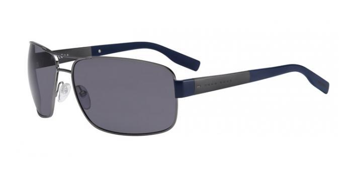 Gafas de sol BOSS Hugo Boss BOSS 0521/S IKG (TD) DARK RUTHENIUM / GREY POLARIZED