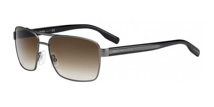 Gafas de sol BOSS Hugo Boss BOSS 0592/S 5MO (CC) DARK RUTHENIUM/BLACK / BROWN GRADIENT