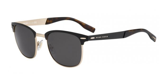 Gafas de sol BOSS Hugo Boss BOSS 0595/S 5TS (Y1) MATTE BLACK/ROSE GOLD / GREY