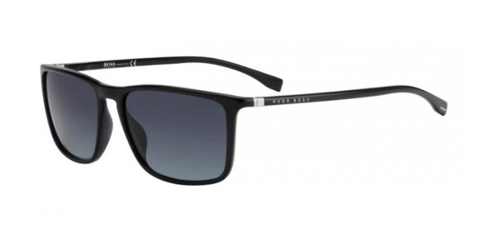 Gafas de sol BOSS Hugo Boss BOSS 0665/S D28 (HD) SHINY BLACK / GREY SHADED