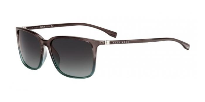 Gafas de sol BOSS Hugo Boss BOSS 0666/S TV9 (PT) BROWN/PETROL/BROWN / GREY SHADED