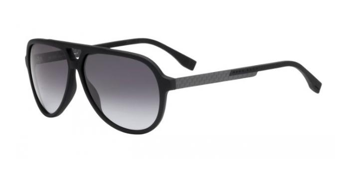 Gafas de sol BOSS Hugo Boss BOSS 0731/S KD1 (HD) BLACK/CARBON / GREY SHADED