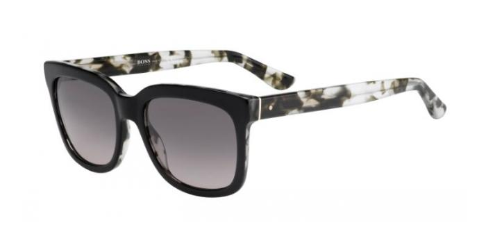 Gafas de sol BOSS Hugo Boss BOSS 0741/S KIL (EU) BLACK/HAVANA CRYSTAL / GREY SHADED