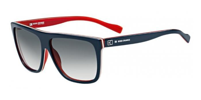 Gafas de sol Boss Orange BO 0082/S YW0 (JJ) BLUE/WHITE/RED / GREY GRADIENT