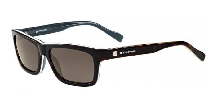 Gafas de sol Boss Orange BO 0094/S L9S (70) DARK HAVANA/WHITE/GREY / BROWN