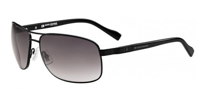 Gafas de sol Boss Orange BO 0107/S MPZ (EU) MATTE BLACK / GREY SHADED