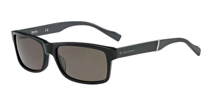 Gafas de sol Boss Orange BO 0158/S 6RE (NR) BLACK/DARK GREY / BROWN GREY