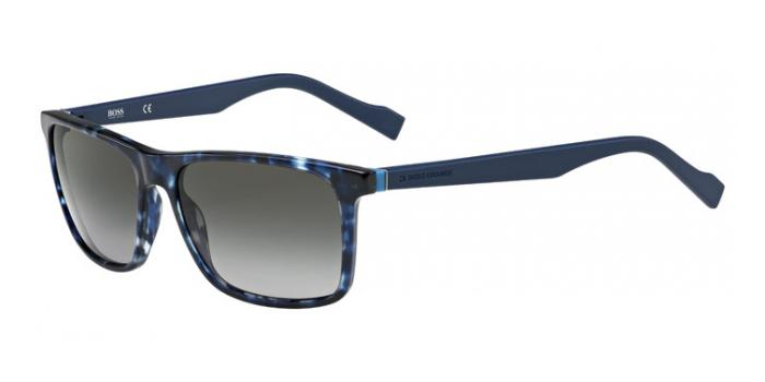 Gafas de sol Boss Orange BO 0174/S JIY (PT) BLUE HAVANA/BLUE / GREY SHADED