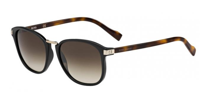 Gafas de sol Boss Orange BO 0178/S 19C (JS) BLACK/HAVANA / BROWN SHADED