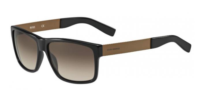 Gafas de sol Boss Orange BO 0196/S 7LE (HA) BLACK/BROWN / BROWN SHADED