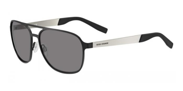 Gafas de sol Boss Orange BO 0226/S 92K (Y1) BLACK/PALLADIUM / GREY