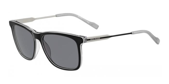 Gafas de sol Boss Orange BO 0229/S LHK (Y1) BLACK/WHITE/GREY/PALLADIUM / GREY