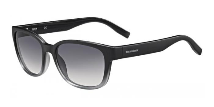 Gafas de sol Boss Orange BO 0251/S PZP (9C) BLACK/GREY / DARK GREY SHADED
