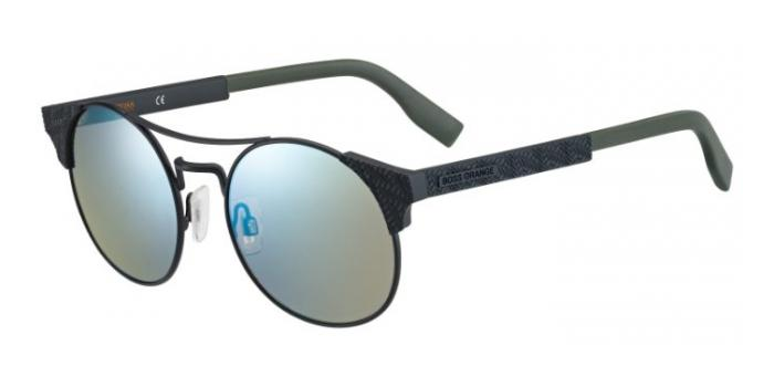 Gafas de sol Boss Orange BO 0280/S 003 (3U) MTT BLACK / KAKI SP BLU