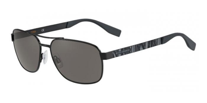 Gafas de sol Boss Orange BO 0285/S 003 (IR) MTT BLACK / GREY BLUE