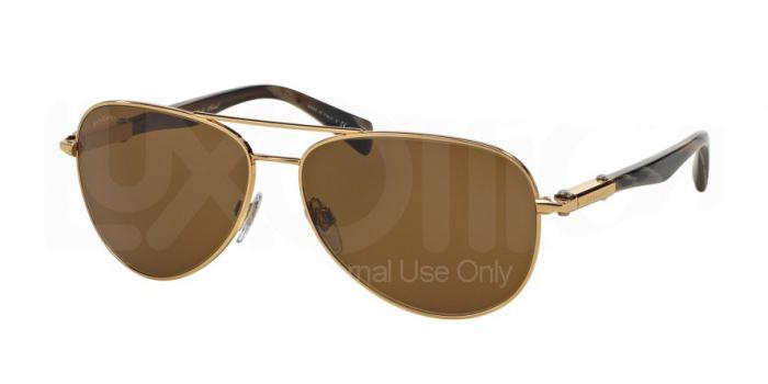Gafas de sol Bvlgari BV5036K 393/83 GOLD PLATED - POLAR BROWN
