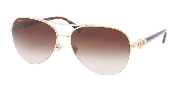 Gafas de sol Bvlgari BV6068K 393/3B GOLD PLATED - BROWN GRADIENT