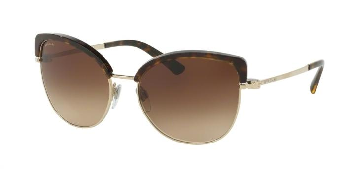 Gafas de sol Bvlgari BV6082 278/13 PALE GOLD/DARK HAVANA - BROWN GRADIENT