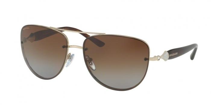 Gafas de sol Bvlgari BV6086B 278/T5 PALE GOLD - POLAR BROWN GRADIENT