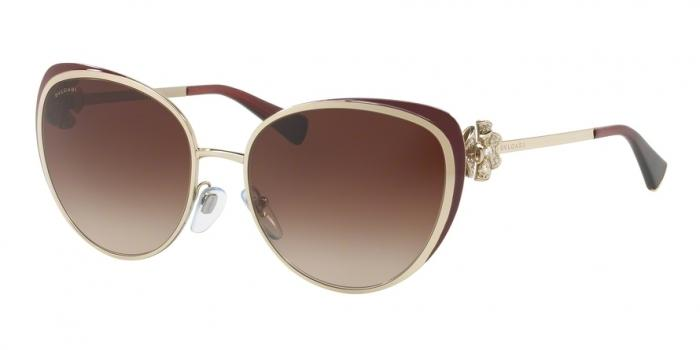 Gafas de sol Bvlgari BV6092B 278/13 PALE GOLD/BURGUNDY - BROWN GRADIENT