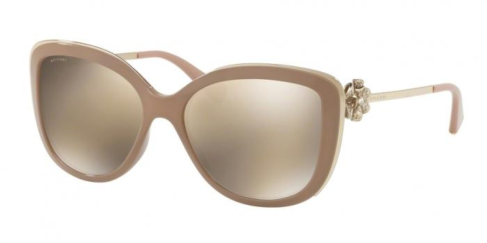 Gafas de sol Bvlgari BV6094B 278/5A BEIGE - LIGHT BROWN MIRROR GOLD
