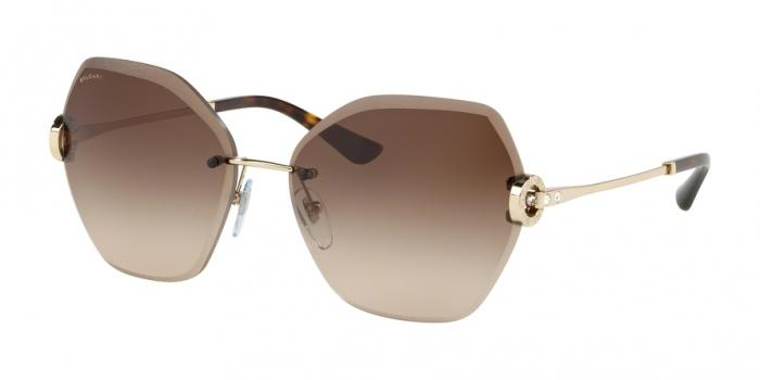 Gafas de sol Bvlgari BV6105B 278/13 PALE GOLD - BROWN GRADIENT