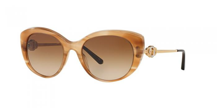 Gafas de sol Bvlgari BV8141K 523513 STRIPED HONEY - BROWN GRADIENT
