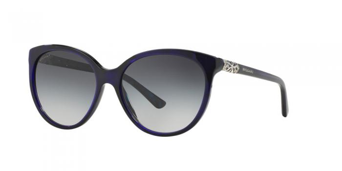 Gafas de sol Bvlgari BV8147B 52718G TOP BLUE ON MARBLE BLUE - GREY GRADIENT