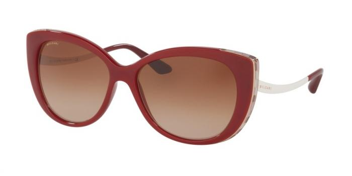 Gafas de sol Bvlgari BV8178 111613 RED/BORDEAUX - BROWN GRADIENT