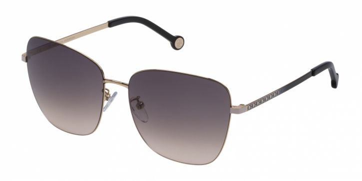 Gafas de sol Carolina Herrera SHE103 0300 ROSA DEGRADADO NEGRO - MARRÓN DEGRADADO A ROSA