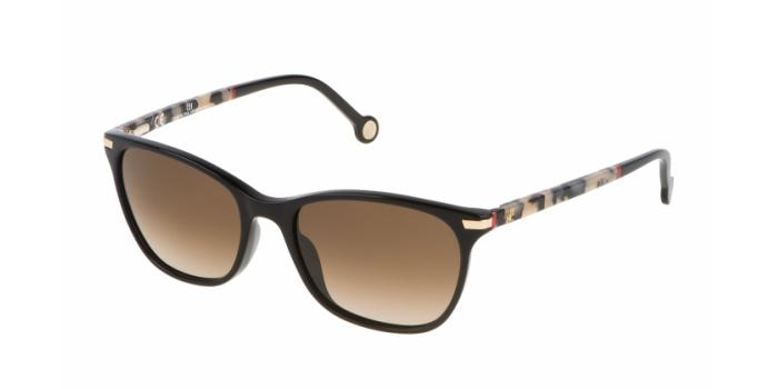 Gafas de sol Carolina Herrera SHE652V 0700 NERO LUCIDO - BROWN