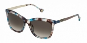 Gafas de Sol Carolina Herrera SHE746 0AM5 AZUL/BEIGE - VERDE DEGRADADO