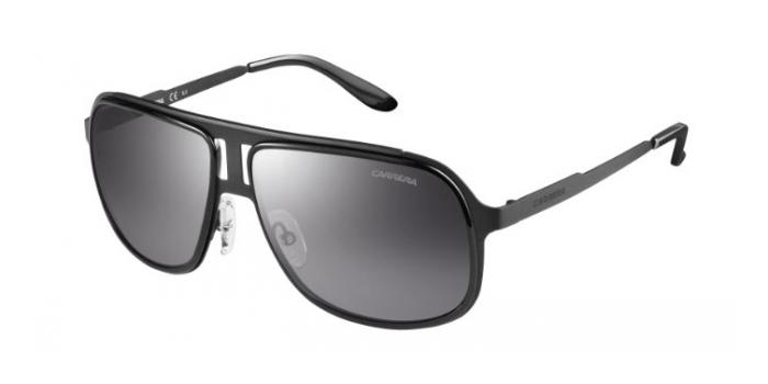 Gafas de sol Carrera CARRERA 101/S HKQ (IC) BLACK/RUTHENIUM / GREY MIRROR SILVER