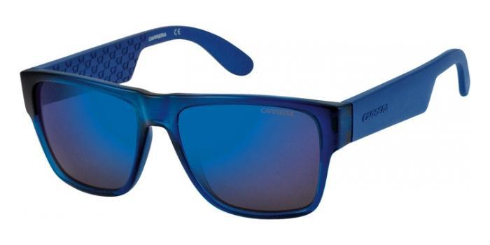 Gafas de sol Carrera CARRERA 5002 B50 (1G) BLUE / MULTILAYER BLUE