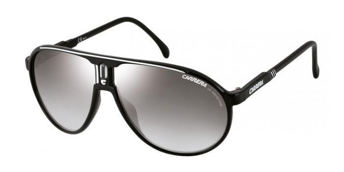 Gafas de sol Carrera CHAMPION BSC (IC) BLACK/SILVER / GREY MIRROR SILVER