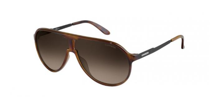Gafas de sol Carrera NEW CHAMPION 8F8 (HA) HAVANA/BLACK / BROWN SHADED