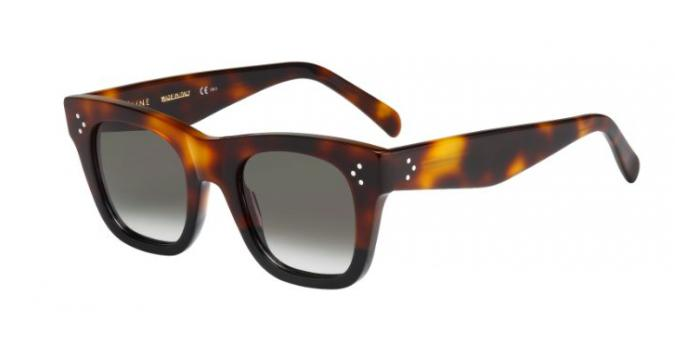 Gafas de sol Celine CL 41089/S KATHRINE SMALL AEA (Z3) HAVANA/BLACK / BROWN DEGRADE