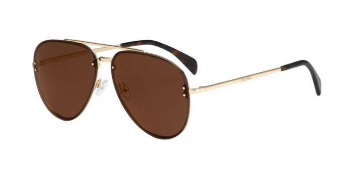 Gafas de sol Celine CL 41391/S MIRROR J5G (LC) GOLD / BROWN GOLD