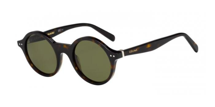 Gafas de sol Celine CL 41434/S THIN JANE 086 (1E) DARK HAVANA / GREEN